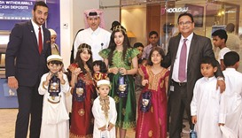 Commercial Bank gives Garangao gifts to children