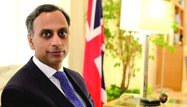 British ambassador Ajay Sharma