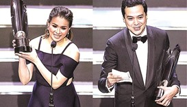 Lloyd, Reyes claim top honours at awards ceremony