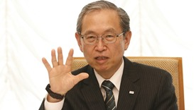 Toshiba's president warns of long road to recovery