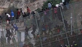 Melilla and Ceuta have for some years been a flashpoint for African migrants trying to enter Spain