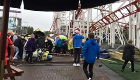 7 injured after roller coaster derails in Scottish theme park