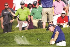 Els surges but Hurley still leads at PGA National