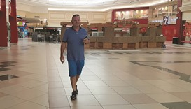 'Walk in the mall' encourages more residents to exercise