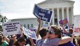 US Supreme Court strikes down restrictive Texas abortion law