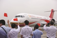 Made in China plane makes first flight