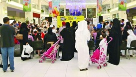 Eid shopping crowd