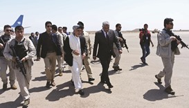 Ghani arrives in Herat