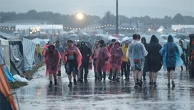 8 seriously hurt by lightning at German rock festival