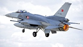 Turkish fighter plane