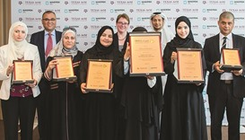 Qatari teacher named Stem Educator of Year