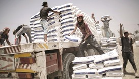 Cement for Gaza