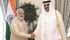 Qatar, India take steps to upgrade ties