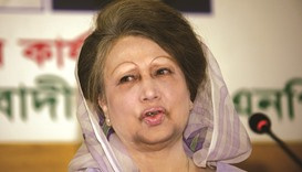 Zia  invites Hasina to Iftar party