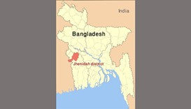 Jhenidah district, Bangladesh