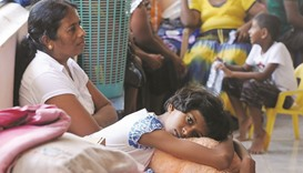 Hundreds left homeless after Lanka depot blast