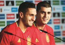 Spain striker Morata fit and ready for action