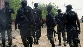 Three girl suicide bombers killed in foiled attack in Cameroon