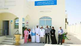 Physiotherapy services launched at Al Shamal Health Centre