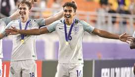 England fans 'ecstatic' with win