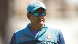 Kumble steps down as India coach - report
