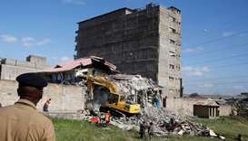 Building collapses in Kenyan capital, 15 missing