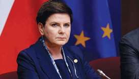 Szydlo: had said that 'in our troubled times, Auschwitz is a great lesson that everything must be do