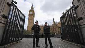 Suspicion of having knife:  Man detained near UK parliament
