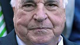 Helmut Kohl, father of German reunification, dies at 87 - Bild