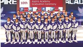 Aspire Academy celebrates decade of sports development with graduation of 10th batch