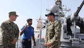 Qatar-US joint naval exercise held