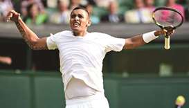 Fit at last, Kyrgios feels at home in London