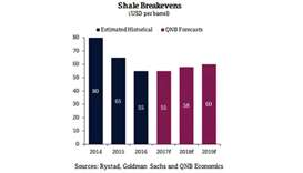 Global oil price may exceed $60 by 2019, says QNB