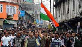Dead paraded in India's Darjeeling amid unrest
