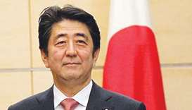 Japanese PM Shinzo Abe.