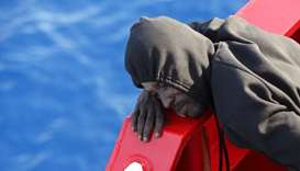 More than 120 migrants feared dead at sea after boat's motor stolen