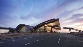 A view of the Hamad International Airport (HIA) in Doha.