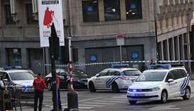 Belgian troops shoot person at Brussels station after blast