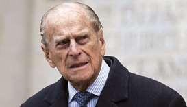 UK's Prince Philip leaves hospital in London