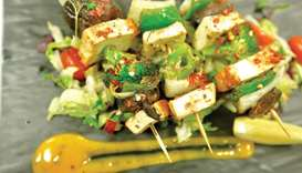 The deliciously healthy Tofu Tikka