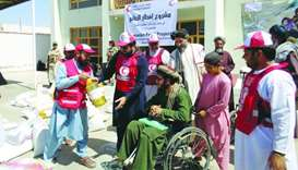 QRCS' food aid programme benefits thousands in four countries