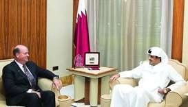 Emir meets ConocoPhillips chairman