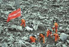 Over 100 missing in China landslide