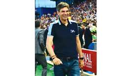 Pellegrino, the complete coach who hates losing and frets when he wins