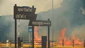 Spain forest fires force evacuation of 1,500