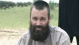 Johan Gustafsson, who was taken captive in northern Mali