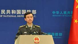 Chinese Defence Ministry spokesman Wu Qian