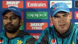 Pakistan 'completely calm' ahead of India clash: Arthur