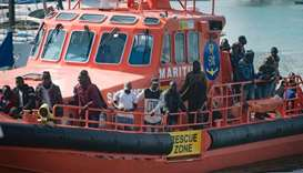 Spain rescues 173 migrants crossing Med in one day