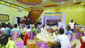 QC organises Iftar in three countries